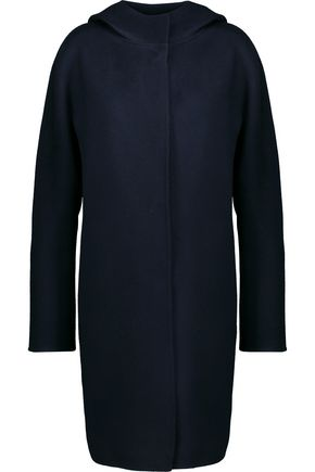 THEORY Wool and cashmere-blend hooded coat