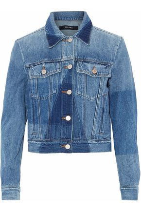 J BRAND Two-tone denim jacket