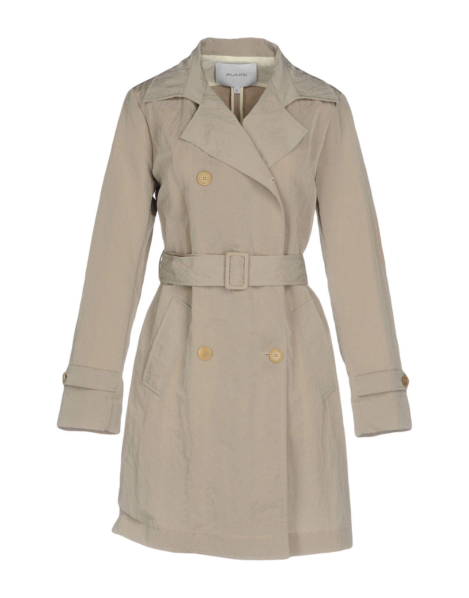 AGLINI Легкое пальто aglini ремень
