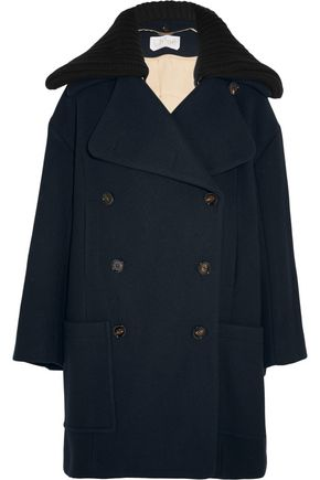 CHLOÉ Double-breasted wool-blend coat