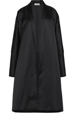 JIL SANDER Satin coat