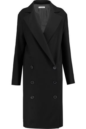 JIL SANDER Cotton-twill coat