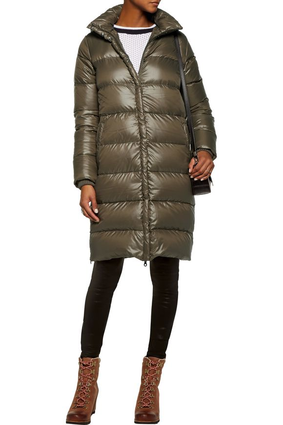 Deneb quilted shell hooded down coat | DUVETICA | Sale up to 70% off | THE  OUTNET