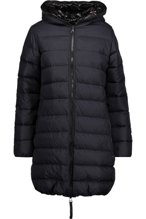 DUVETICA Ace quilted shell hooded jacket