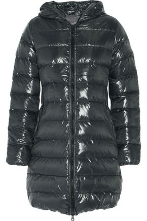 DUVETICA Acequattro quilted shell hooded coat