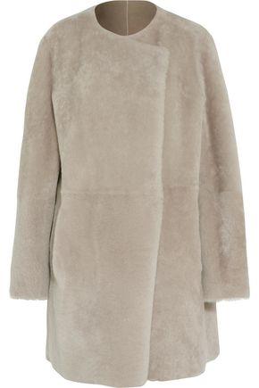 THEORY Nyma shearling coat
