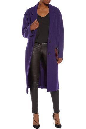 JUST CAVALLI Brushed wool coat