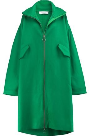 MARQUES ' ALMEIDA Wool-blend felt coat