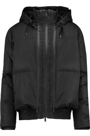 DKNY Shell hooded coat