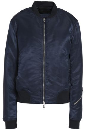 RAG & BONE Satin bomber jacket
