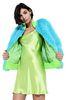 ALBERTA FERRETTI Faux fur fluo bomber jacket Fur Woman d