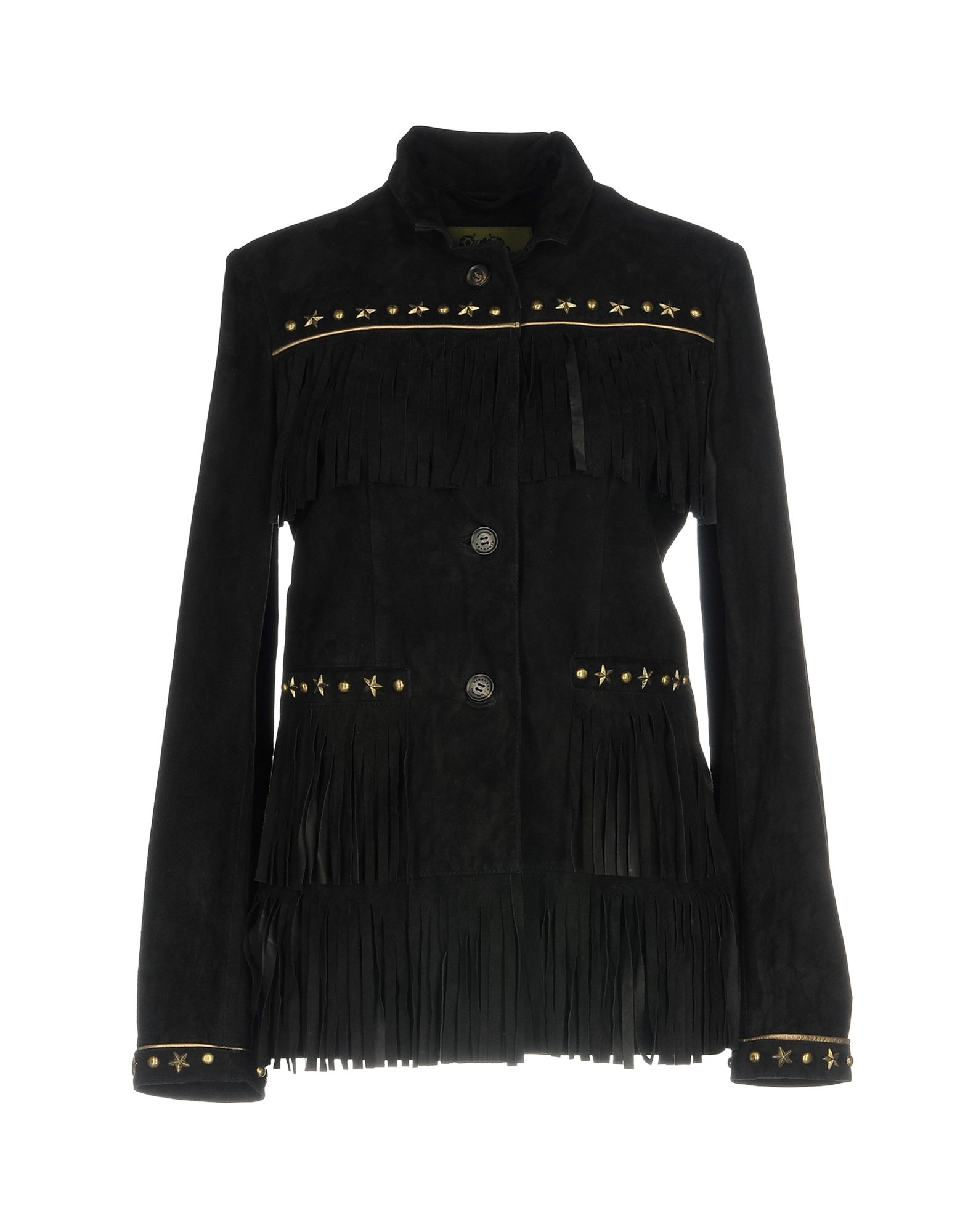 CHAMONIX Leather Jacket in Black