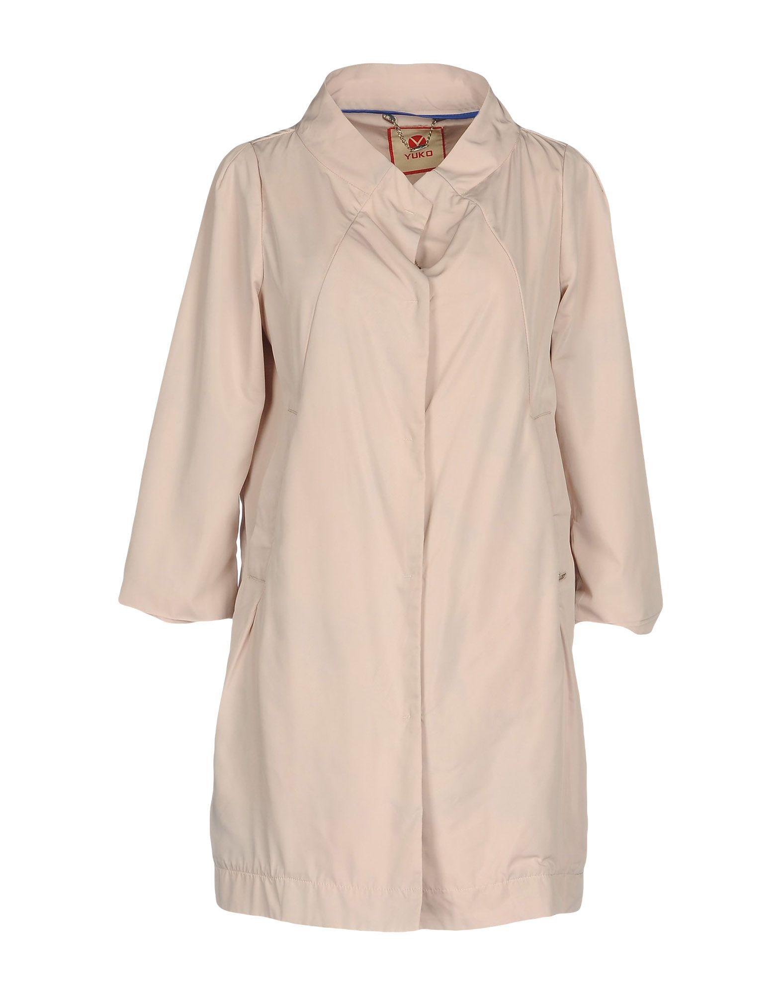 YUKO Легкое пальто недорго, оригинальная цена