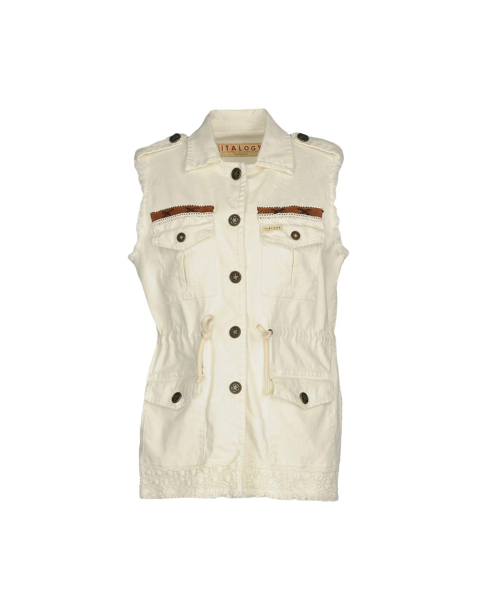 ITALOGY Джинсовая верхняя одежда