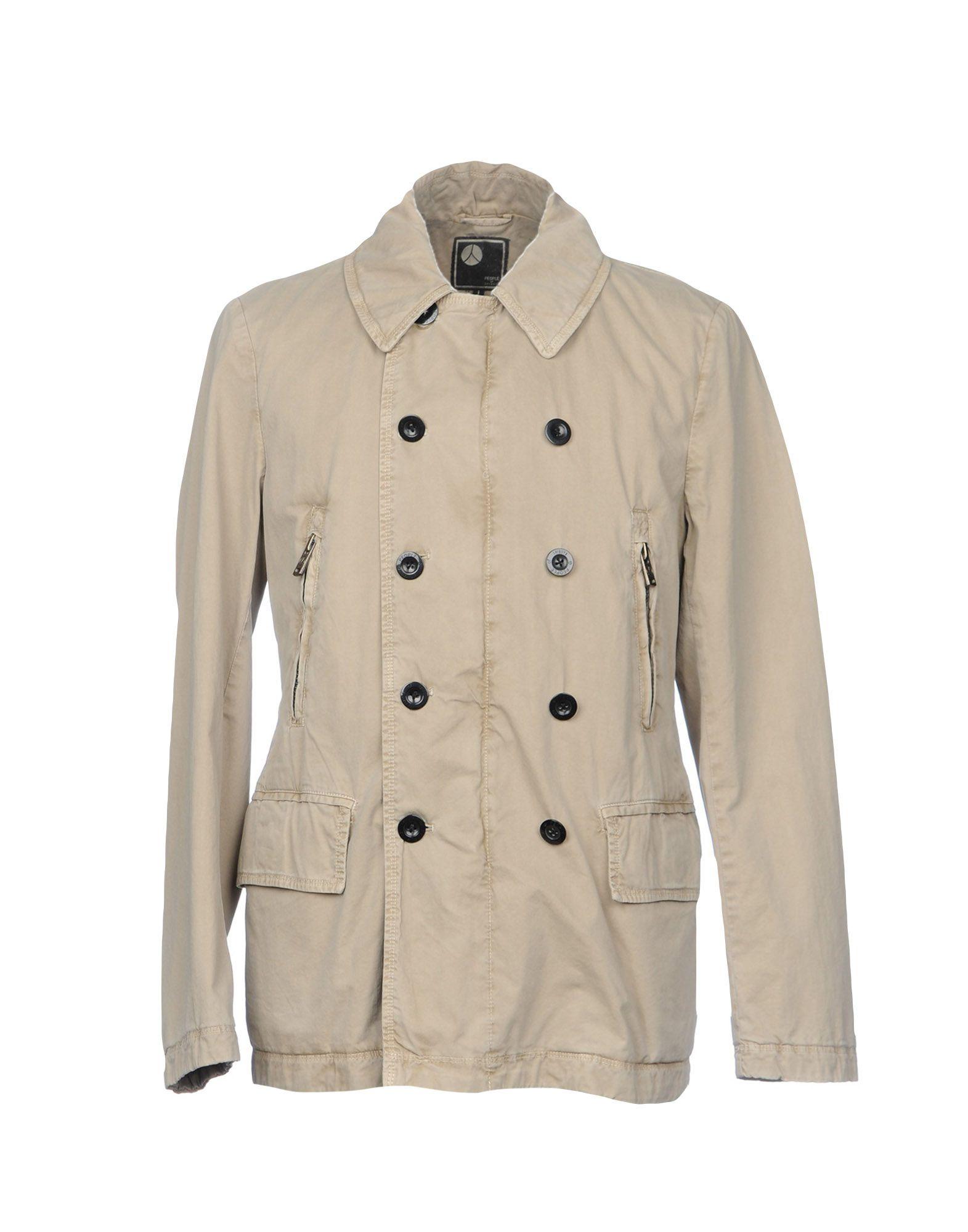 PEOPLE OF SHIBUYA Куртка people of shibuya легкое пальто