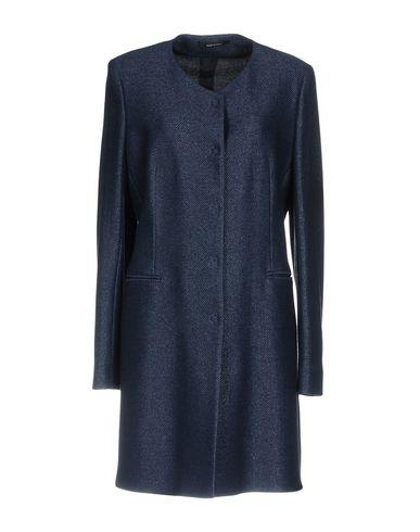 Фото - Женское пальто или плащ TAGLIATORE 02-05 темно-синего цвета