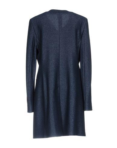 Фото 2 - Женское пальто или плащ TAGLIATORE 02-05 темно-синего цвета