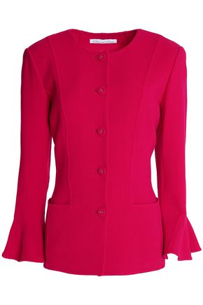 OSCAR DE LA RENTA Stretch wool-blend jacket