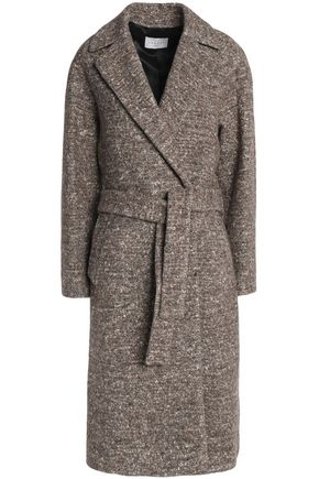 SANDRO Wool-blend tweed coat