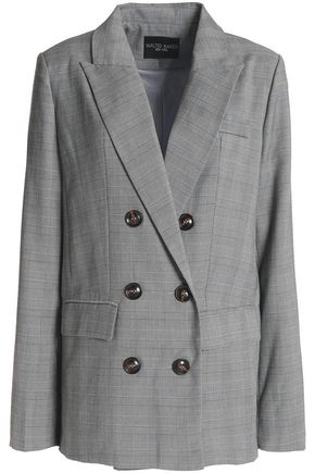 W118 by WALTER BAKER Double-breasted twill blazer