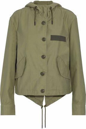 RAG & BONE/JEAN Cotton-canvas hooded jacket