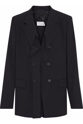 MAISON MARGIELA Distressed wool-blend twill jacket