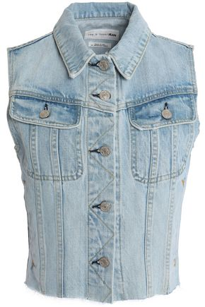 RAG & BONE/JEAN Denim vest