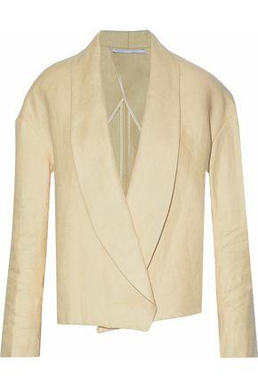 ROSETTA GETTY Linen-twill blazer