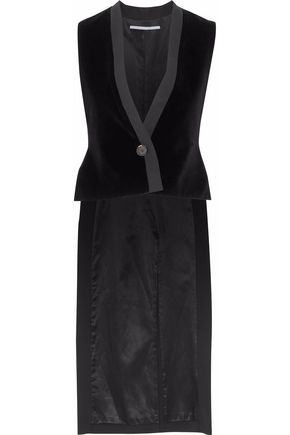 WOMAN VESTS AND GILETS BLACK