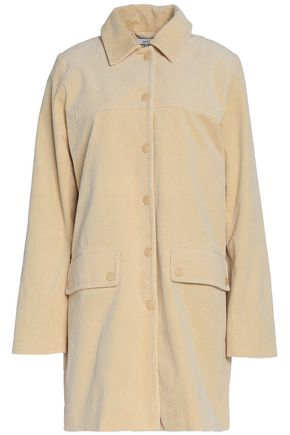 GANNI Cotton-blend corduroy coat