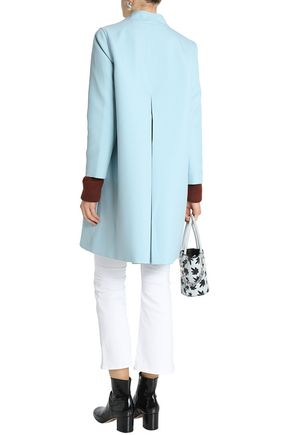 GANNI Crepe coat