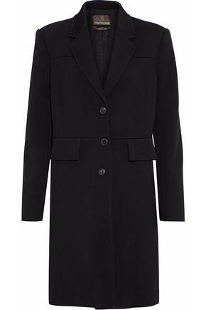 ROBERTO CAVALLI Lace-up wool-blend twill coat