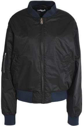 GANNI Two-tone shell bomber jacket