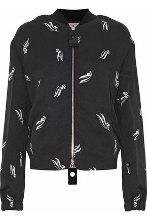 MARNI Printed crepe jacket