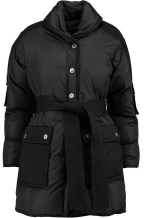 MARC BY MARC JACOBS Quilted canvas-paneled shell down coat