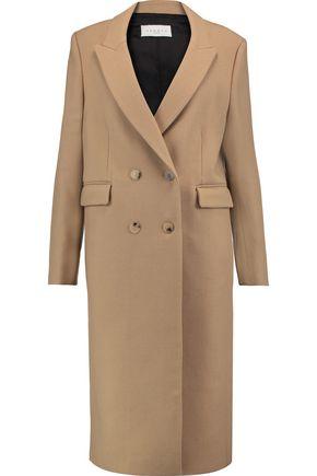 SANDRO Wool-twill coat