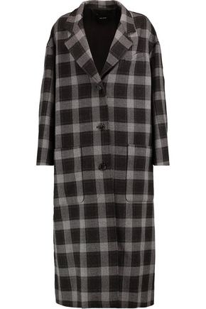 ISABEL MARANT Checked wool coat