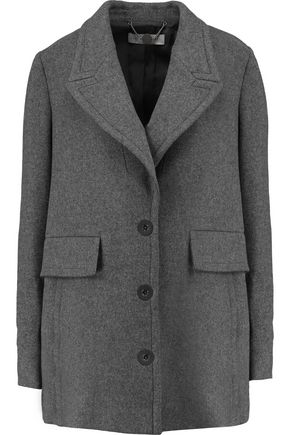 STELLA McCARTNEY Debora felted wool-blend jacket