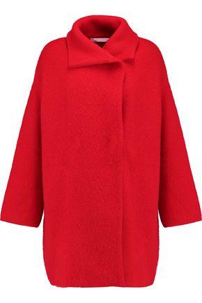 DIANE VON FURSTENBERG Oversized wool, cashmere and angora-blend coat
