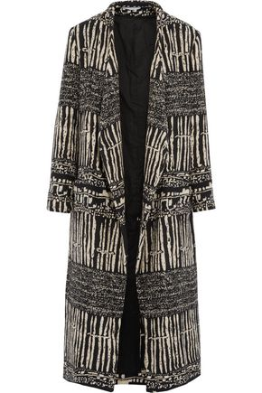 IRO Emy cotton-blend jacquard coat
