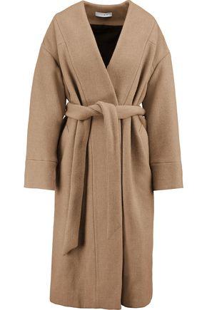 IRO Raina belted wool-blend coat