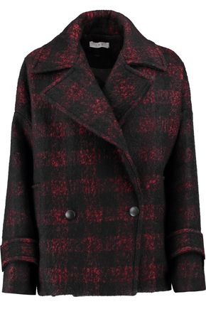 IRO Checked wool-blend jacket