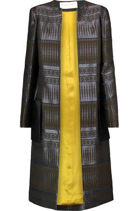 AMANDA WAKELEY Tapis metallic jacquard jacket