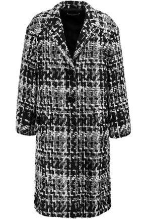 DOLCE & GABBANA Wool-blend tweed coat