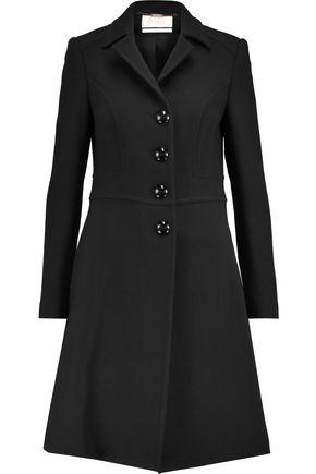 GOAT Dorchester wool-crepe coat