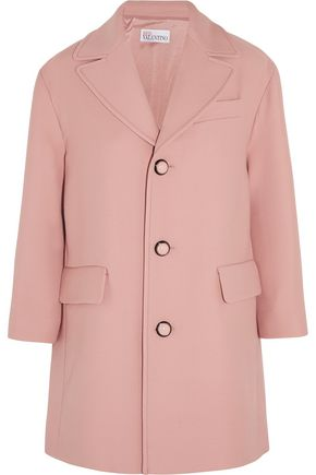 REDValentino Oversized wool-crepe coat