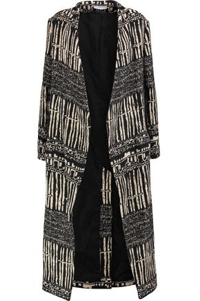 IRO Cotton-blend jacquard coat
