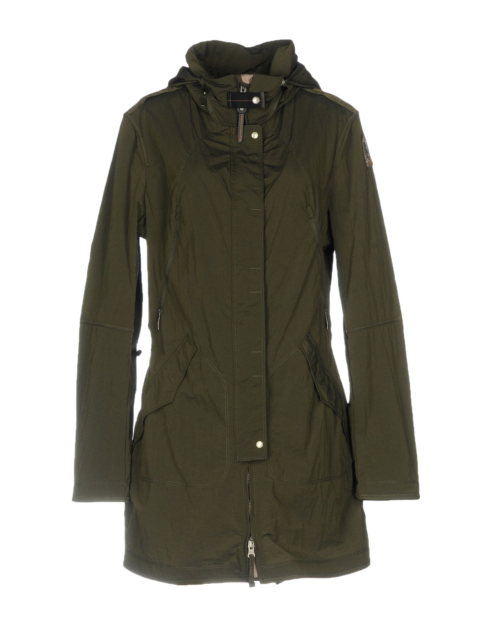 PARAJUMPERS JACKETS, MILITARY GREEN