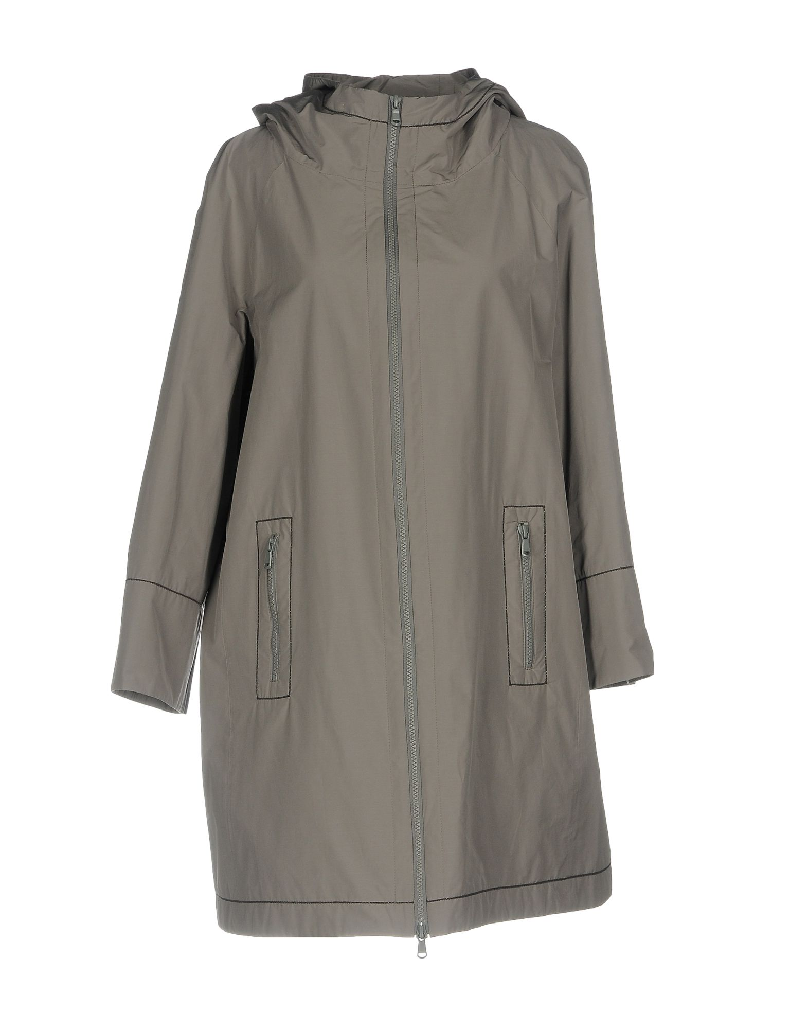 цена BRUNELLO CUCINELLI Легкое пальто онлайн в 2017 году