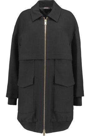 DKNY Oversized wool-twill coat